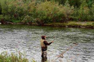 Рыболовная экспедиция с заброской вертолетом. Вылет 12.08.17, река Койп