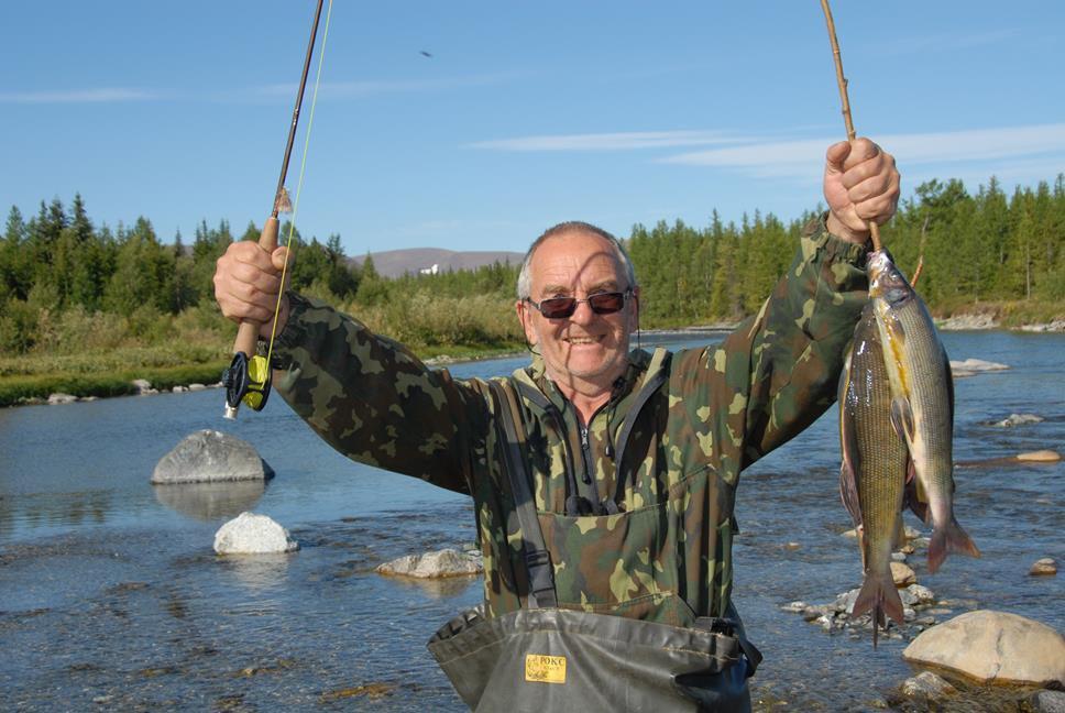 Ловля рыбы в урал реке